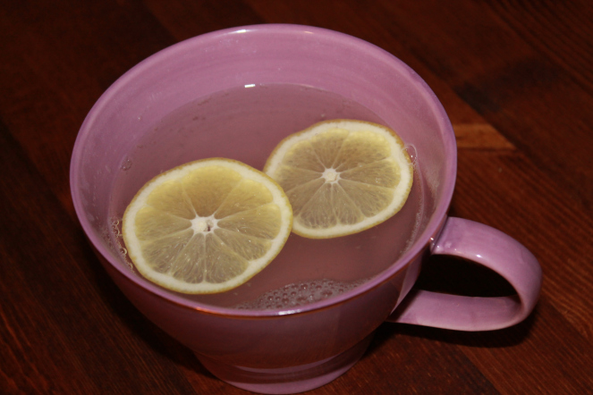 citron och ingefärsdryck