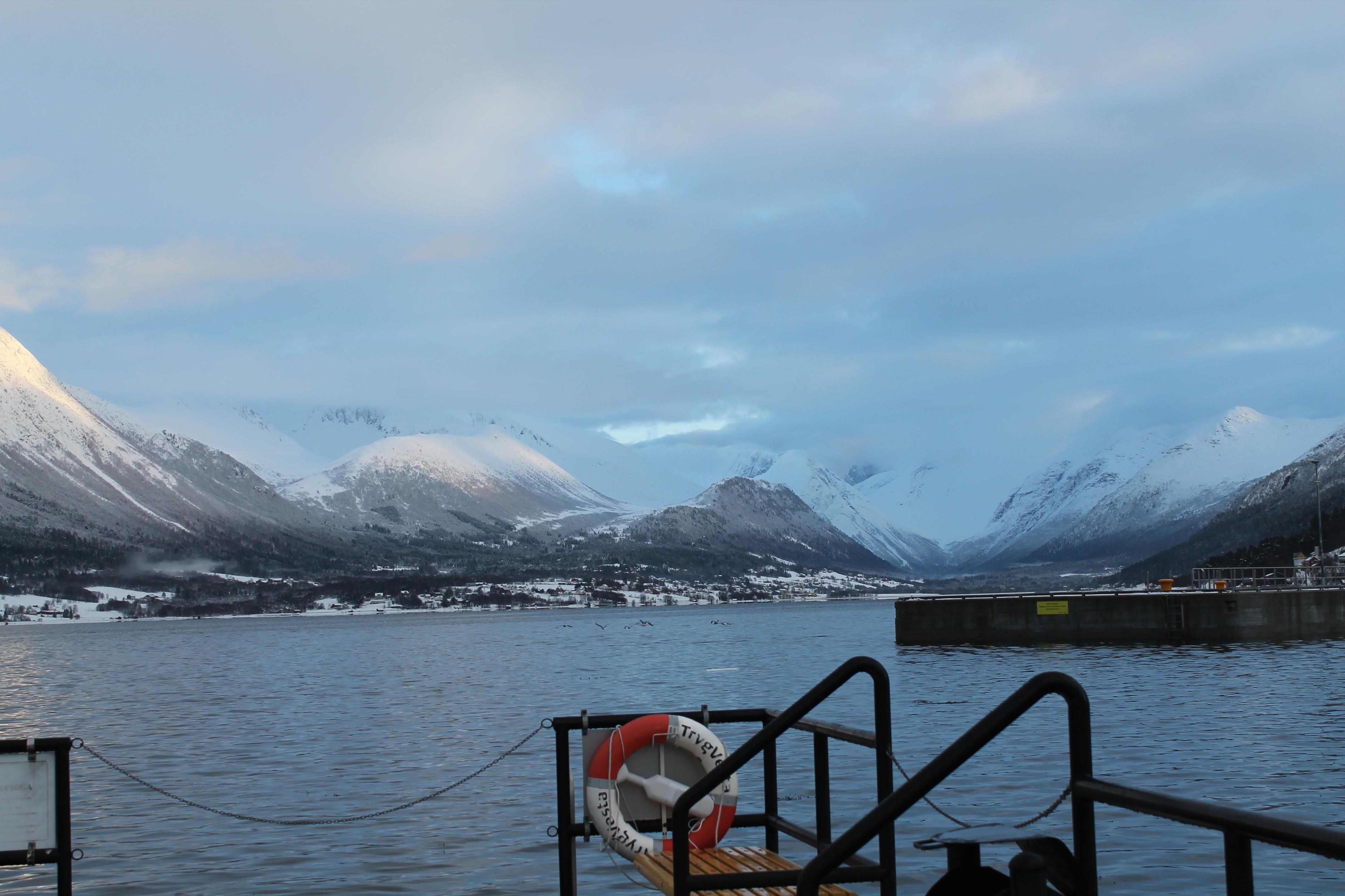 På tur till Åndalsnes