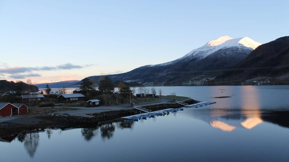 Att vakna upp i Norge